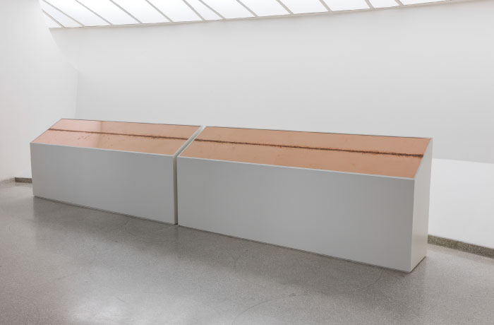 Installation view, Storylines: Contemporary Art at the Guggenheim, Solomon R. Guggenheim Museum, New York, June 5-September 9, 2015